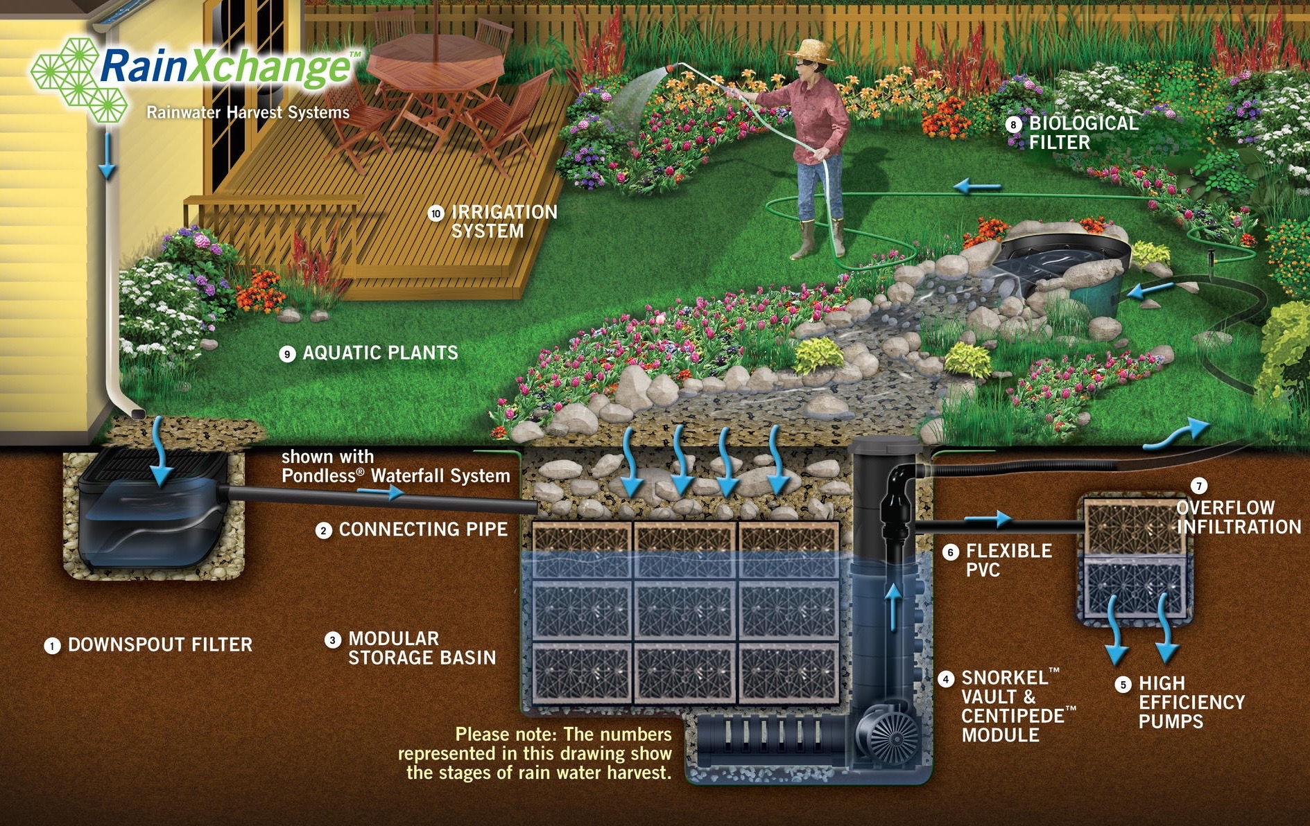 Capturing Rainwater In California Sweetwater Landscape Inc