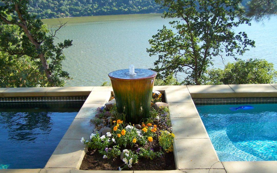Outdoor Water Fountain In Your Garden