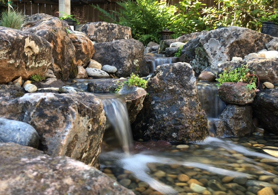 Choosing the Right Stones to Design a Natural-looking Pond